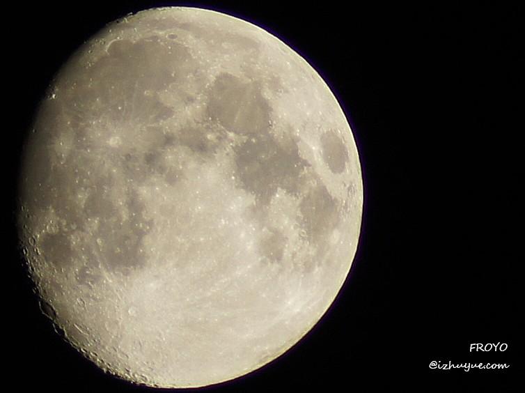 今晚月亮好圆,小拍几张怡情