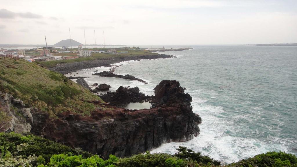 背景图片:济州岛